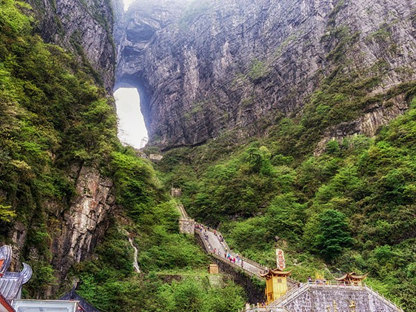5 Days Tour from Changsha to Zhangjiajie