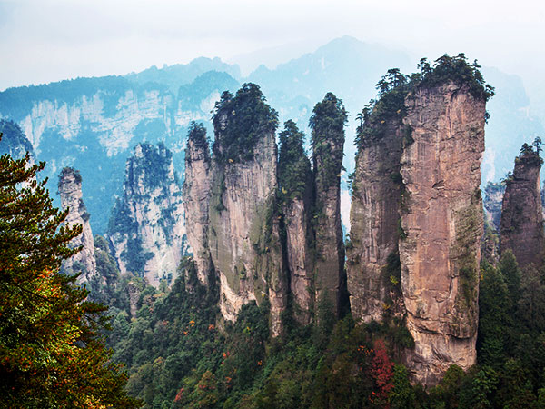 What to Eat on the Mountains in Zhangjiajie
