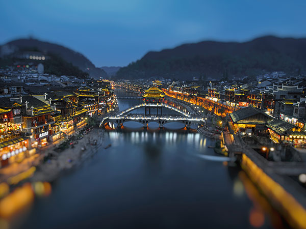 Fenghuang Ancient Town View