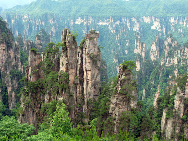 5 Days Guangzhou to Zhangjiajie Tour