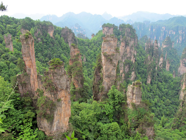 5 Days Tour from Guangzhou to Zhangjiajie