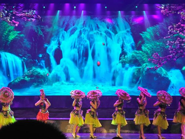 Ver el espectáculo maravioso de Xiangxi