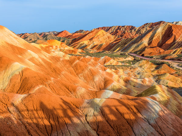 Most Beautiful Danxia Landforms in China