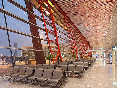 The Largest Airport in China: Beijing Capital international airprot