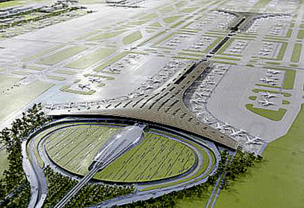 Beijing Capital International Airport is the largest airport in China