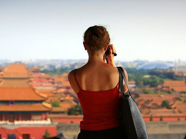 women travlling in China