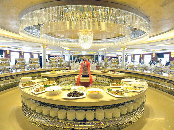 Yangtze River Cruise Meal