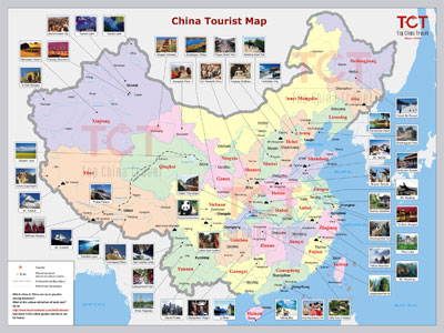 China Tourist Map