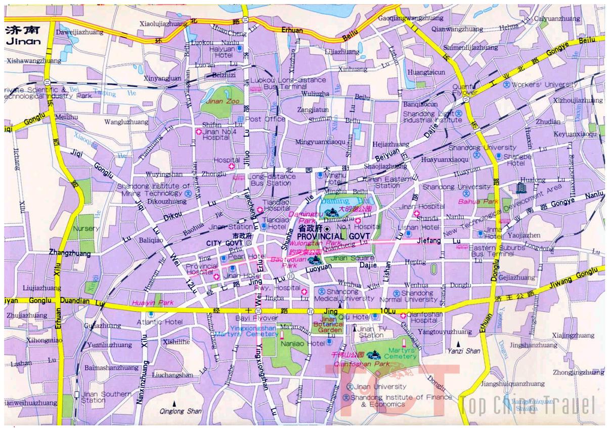 Shandong Maps Map Of Shandong China Shandong Province Maps - Jiaozhou city map