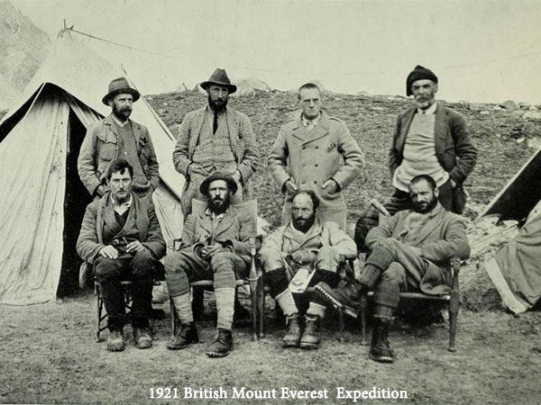 Early Expeditions of Mount Everest