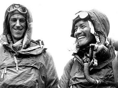 The First People to Reach the Summit of Mount Everest