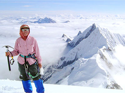 The First Woman to Reach the Summit of Mount Everest