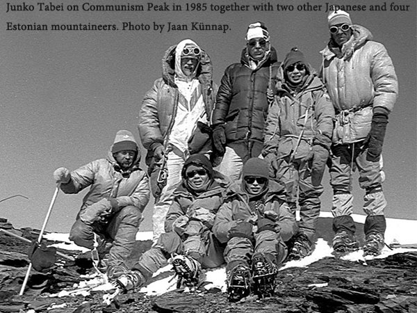 Junko Tabei to Mount Everest