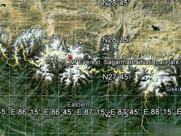 Mount Everest Location: Where is Mt Everest Situated in China & Nepal