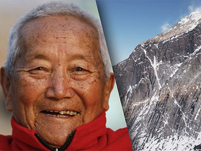 The Oldest Person to Climb Mount Everest