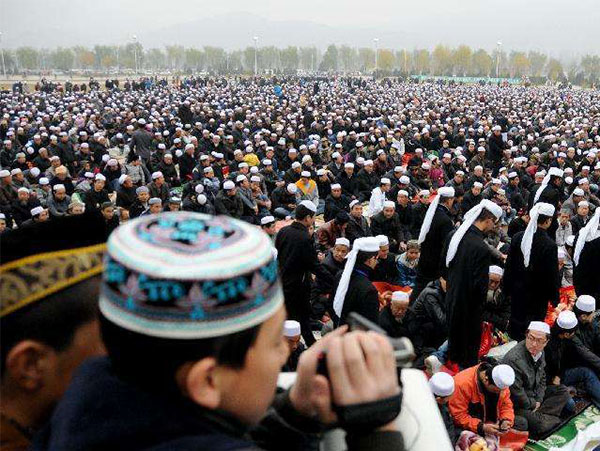 Muslim Population in Gansu