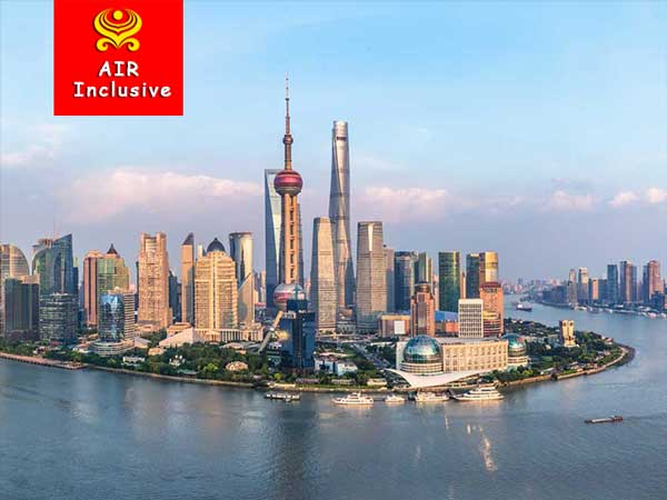 8 Days Beijing Shanghai All Inclusive Tour