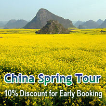 China Spring Tour Early Booking Saving