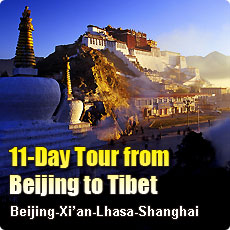 11 Days Tour from Beijing to Tibet
