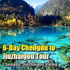 6 Days Chengdu to Jiuzhaigou Tour
