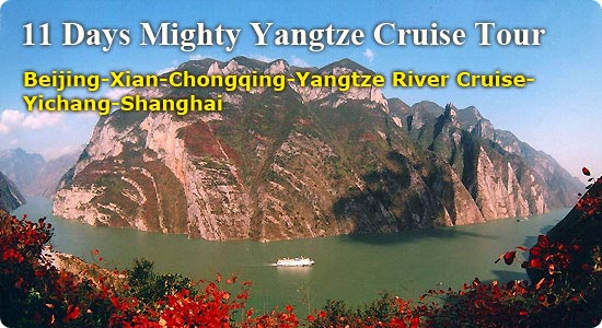 Yangtze River Cruise - 11 Days Mighty Yangtze Cruise Tour