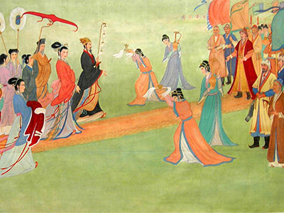 Peace-making Marriage in Ancient Silk Road