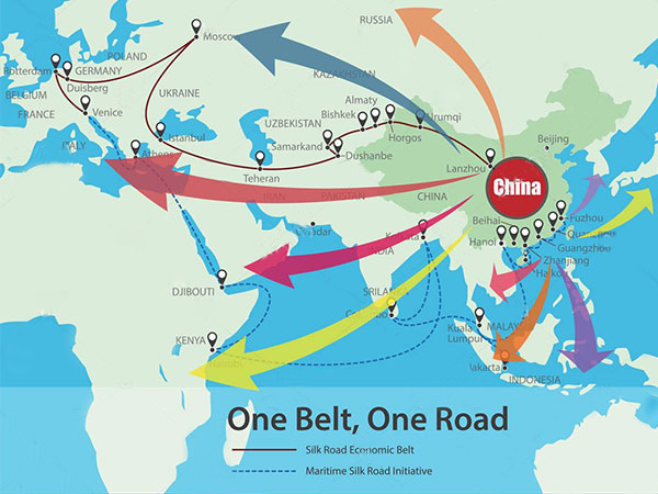 One Belt One Road Initiative, The Belt and Road Map & List & Impact