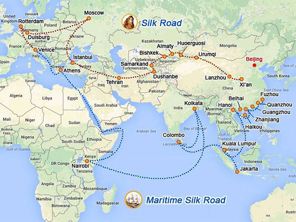 The Silk Road Routes