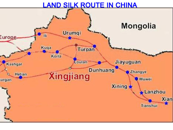 land silk route