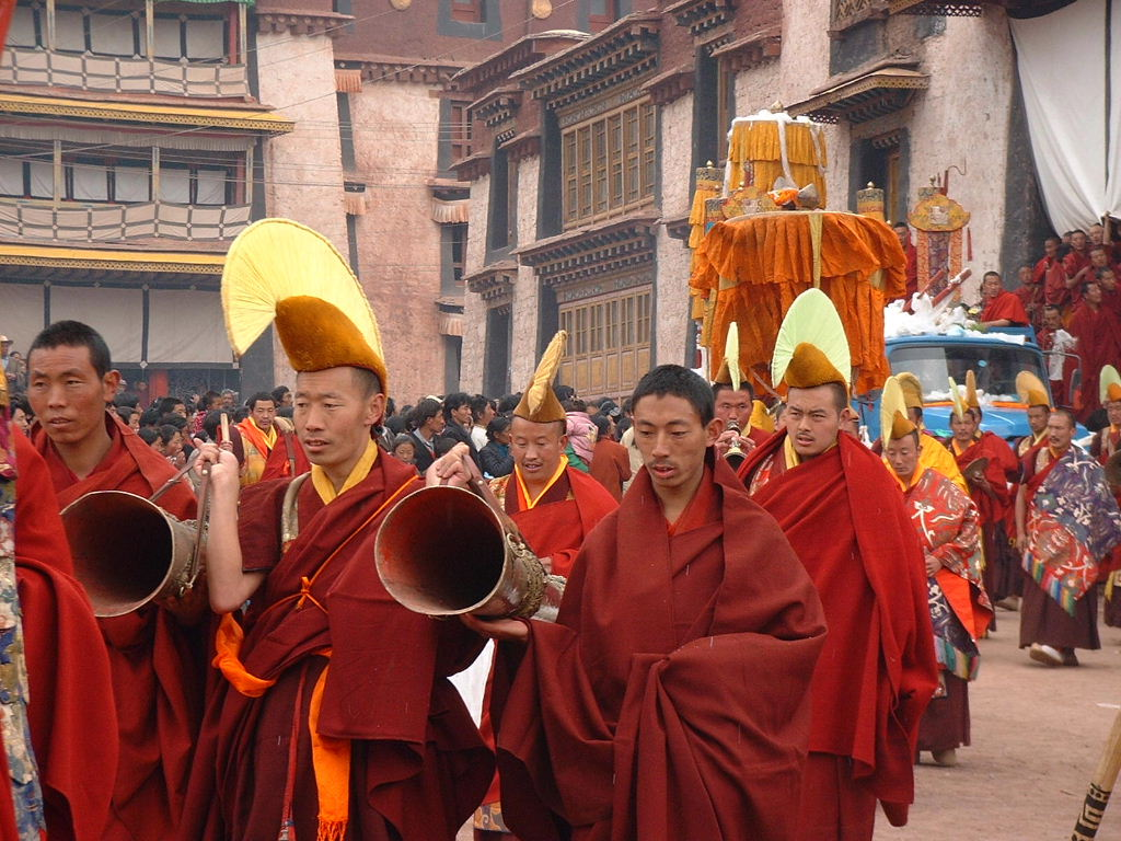 Tibet and the religion of buddhism