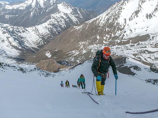 Altitud de 5200 metros Mt. Everest