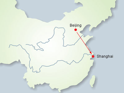 Beijing-Shanghai High Speed Train Tour