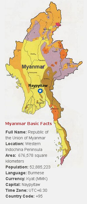 Myanmar Tours, Private Tour Packages to Myanmar, Travel to